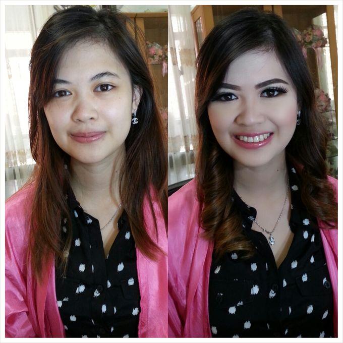 Party Make Up & Hair Do by Nikita Anggoro - 030