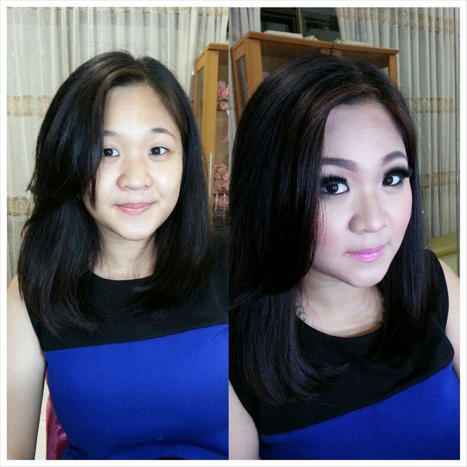 Party Make Up & Hair Do by Nikita Anggoro - 040