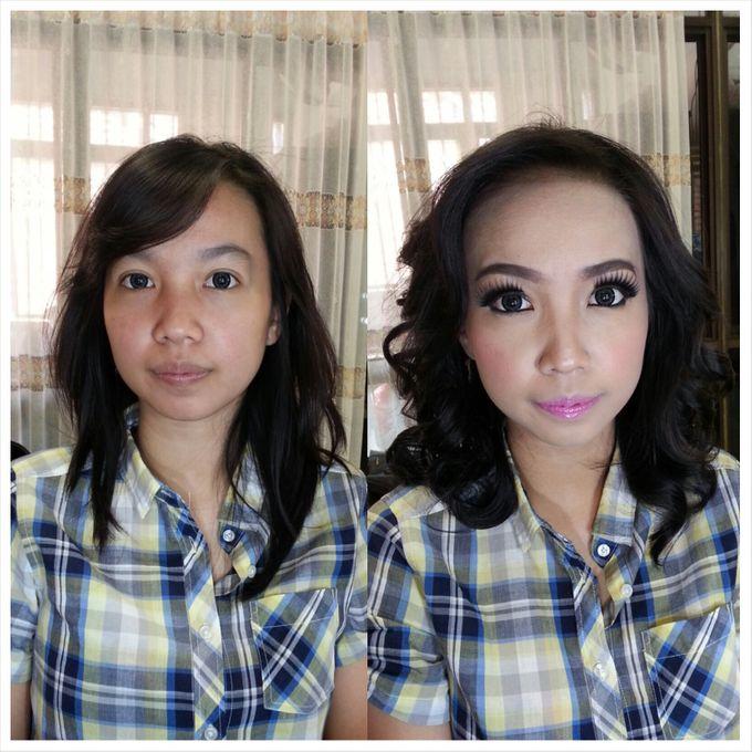 Party Make Up & Hair Do by Nikita Anggoro - 045