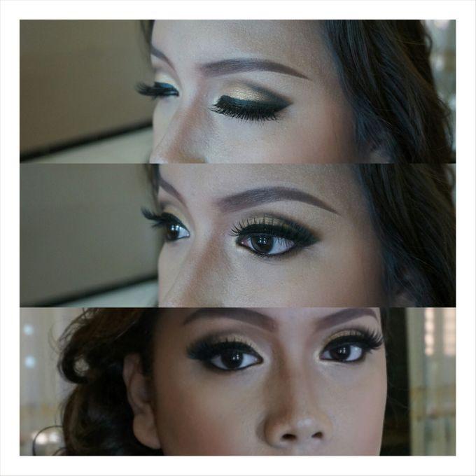 Engagement Make Up & Hair Do by Nikita Anggoro - 004