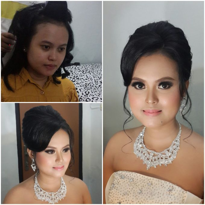 Ria and Anton wedding day by Xinxin Make Up - 007