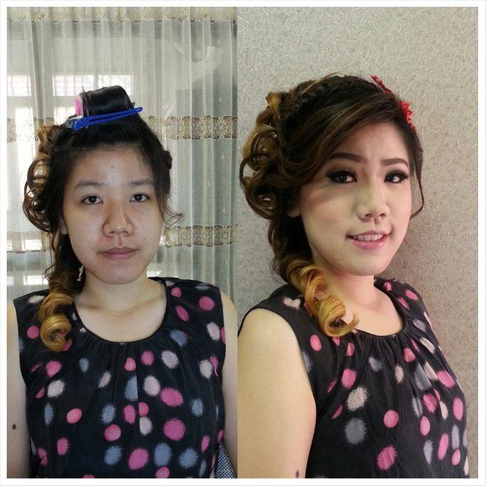 Engagement Make Up & Hair Do by Nikita Anggoro - 005