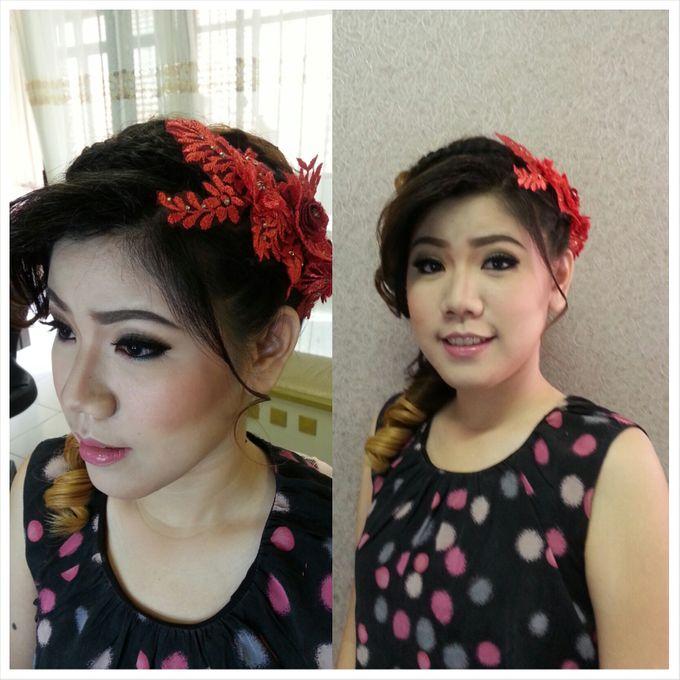 Engagement Make Up & Hair Do by Nikita Anggoro - 006