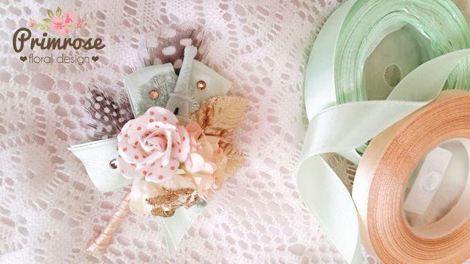 Boutonniere & Corsage by Primrose Floral Design - 005