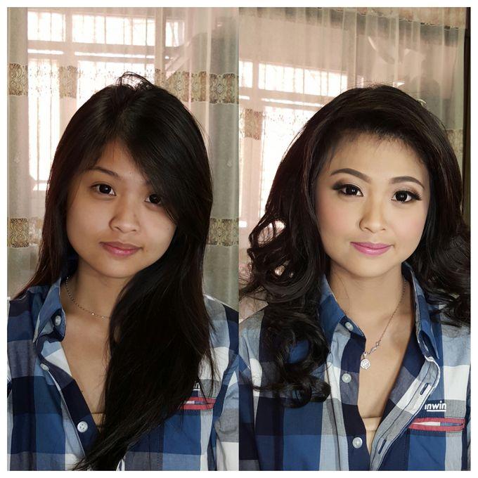 Engagement Make Up & Hair Do by Nikita Anggoro - 010