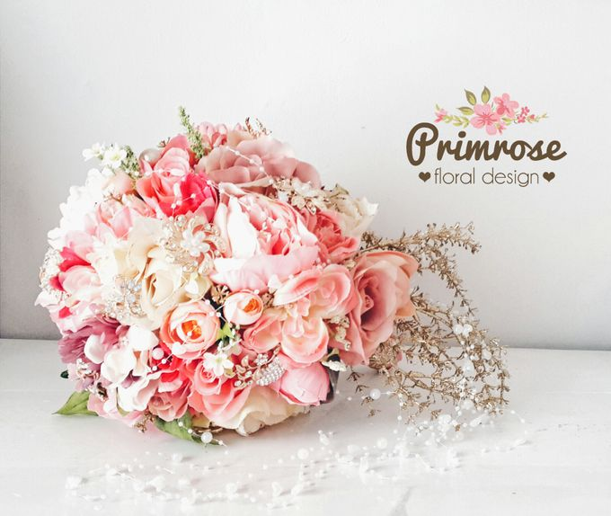 Wedding Bouquet - Handbouquet by Primrose Floral Design - 015