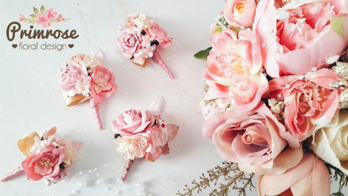 Boutonniere & Corsage by Primrose Floral Design - 024