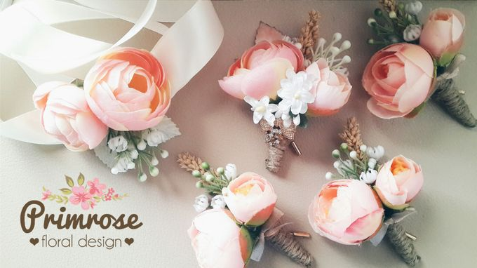 Boutonniere & Corsage by Primrose Floral Design - 031