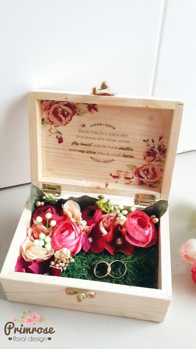 Wedding Ring Box by Primrose Floral Design - 012