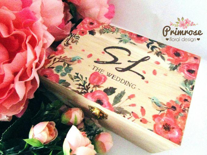 Wedding Ring Box by Primrose Floral Design - 003