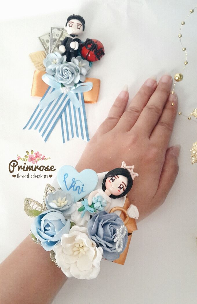 Boutonniere & Corsage by Primrose Floral Design - 044