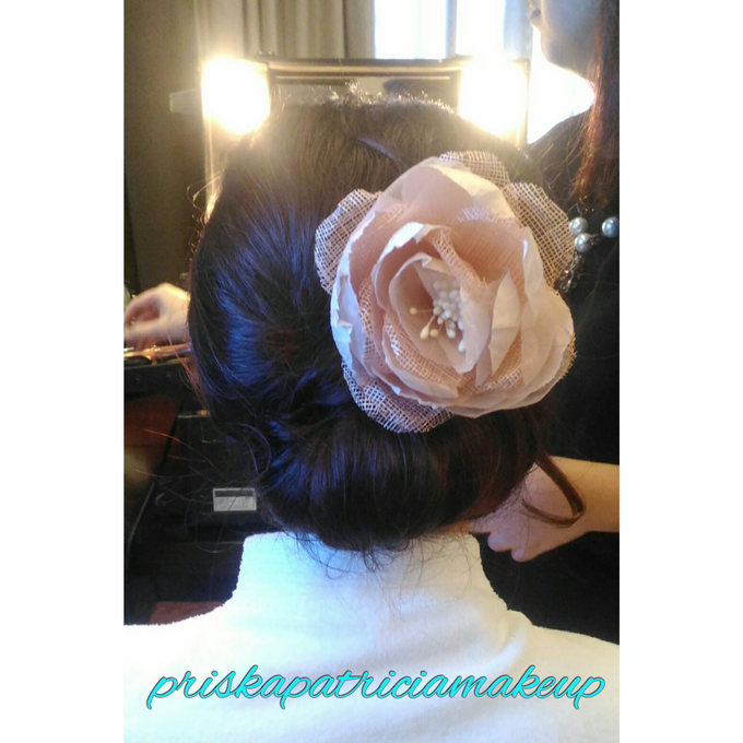 BRIDESMAID HAIRDO - AUDREY by Priska Patricia Makeup - 001