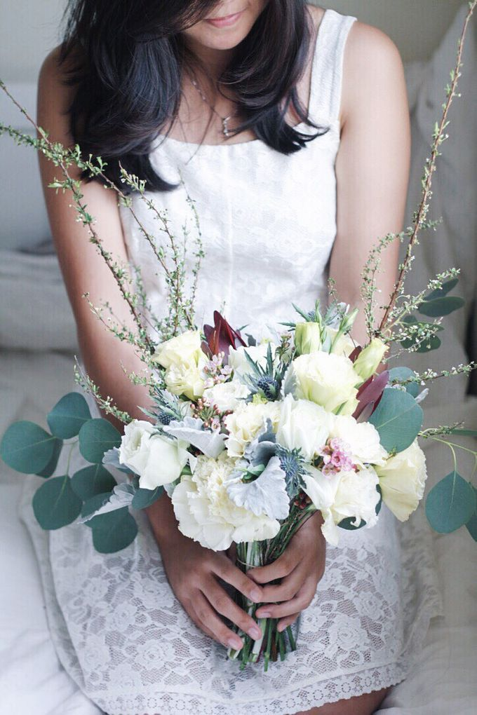 Bridal Bouquet for ELLE Brides March 2016 Edition by Michelle's Flowery - 005