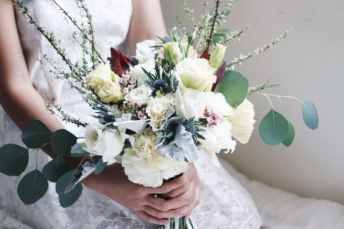 Bridal Bouquet for ELLE Brides March 2016 Edition by Michelle's Flowery - 006