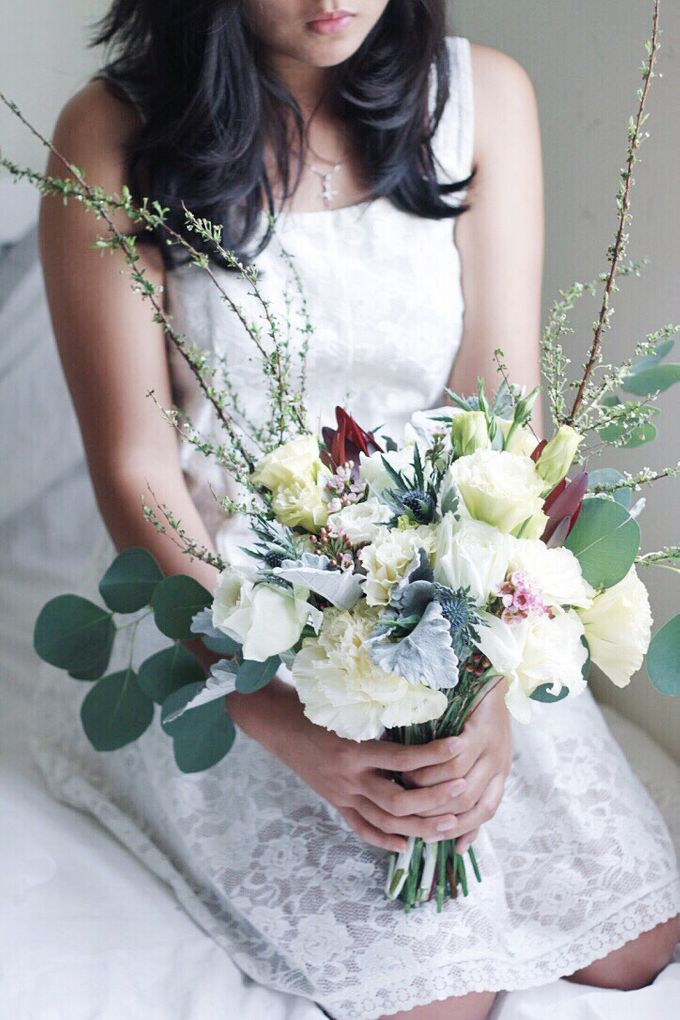 Bridal Bouquet for ELLE Brides March 2016 Edition by Michelle's Flowery - 007