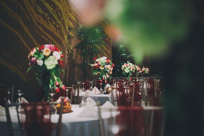 Modern Mandailing Wedding with Video Mapping by Dikaderadjat - 001