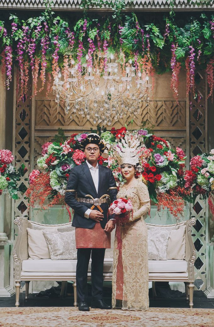 Modern Mandailing Wedding with Video Mapping by Dikaderadjat - 008