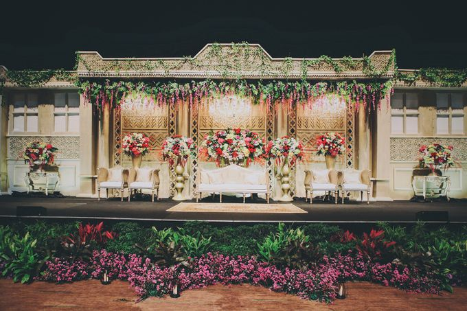 Modern Mandailing Wedding with Video Mapping by Dikaderadjat - 012