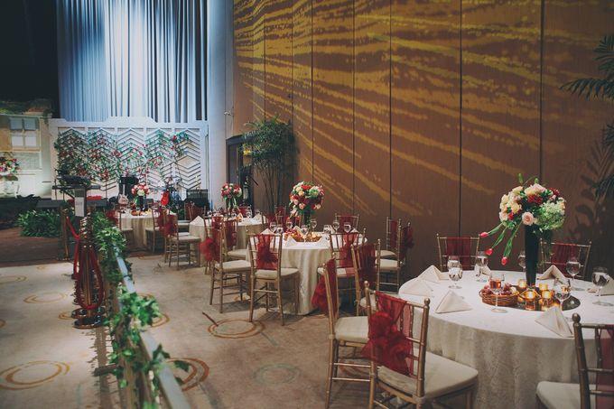 Modern Mandailing Wedding with Video Mapping by Dikaderadjat - 020