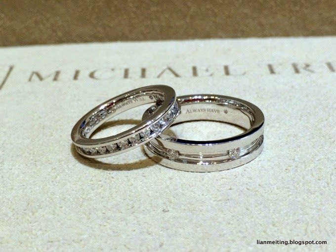MT Wedding Bands by Michael Trio - 036