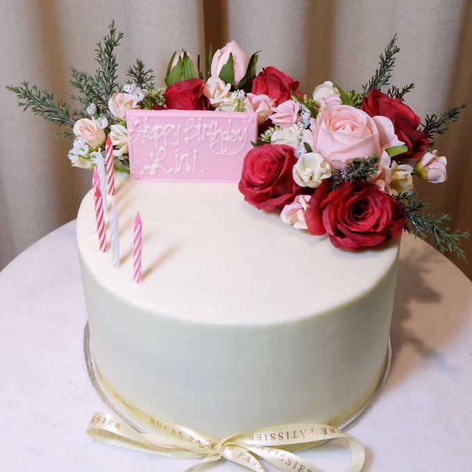 FLORAL CAKE FEATURING JOLIESFLOWER by Sucré Pâtissier and Chocolatier - 003