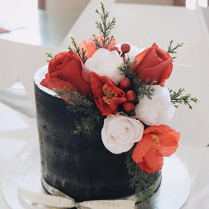 FLORAL CAKE FEATURING JOLIESFLOWER by Sucré Pâtissier and Chocolatier - 001