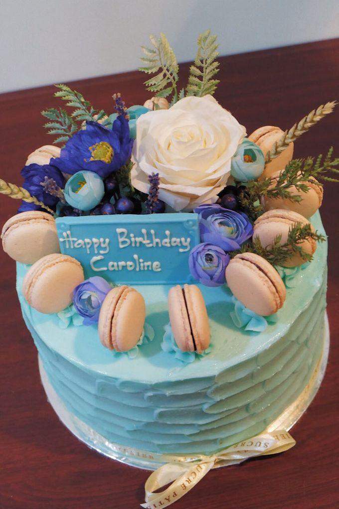 FLORAL CAKE FEATURING JOLIESFLOWER by Sucré Pâtissier and Chocolatier - 004