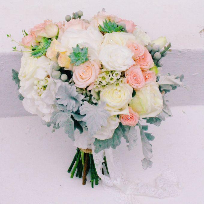 Bridal Bouquets by Ever & Blue Floral Design - 005