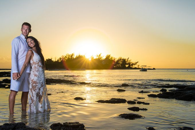 Wedding in Pereybere & Ile aux Cerfs Mauritius by Photography Mauritius - 001