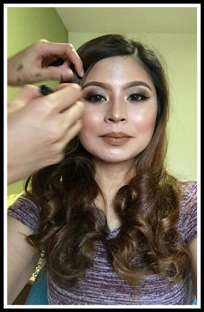 makeup trial with shine go by makeupbynievz - 003