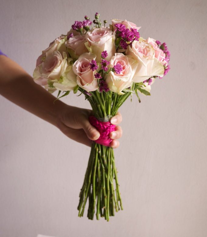 Round Bouquet Collection by Il Fiore - 011