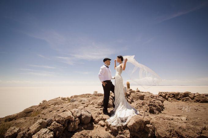 Prewedding photoshoot Salar de uyuni by Pkl Fotografía - 003