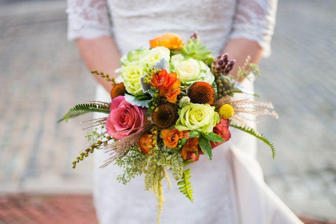 Bouquets & Boutonnieres by Mobtown Florals - 009