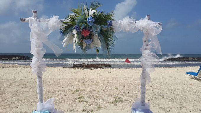 Taylor Beach Wedding by Plan-it Jaxe - 002