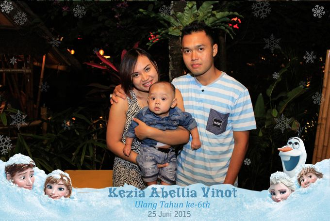 Kezia Abellia Vinot Birthday Party by Happy Moment PhotoBooth - 004
