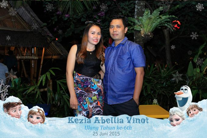 Kezia Abellia Vinot Birthday Party by Happy Moment PhotoBooth - 005