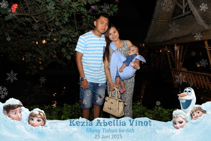 Kezia Abellia Vinot Birthday Party by Happy Moment PhotoBooth - 006