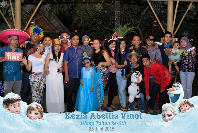 Kezia Abellia Vinot Birthday Party by Happy Moment PhotoBooth - 007