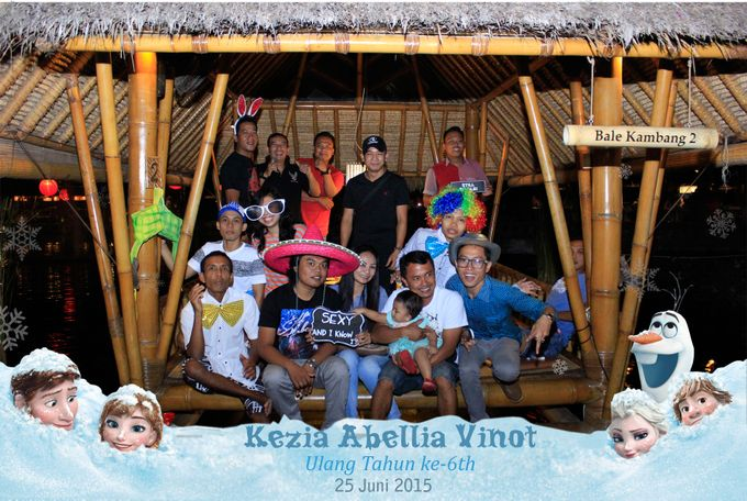 Kezia Abellia Vinot Birthday Party by Happy Moment PhotoBooth - 009