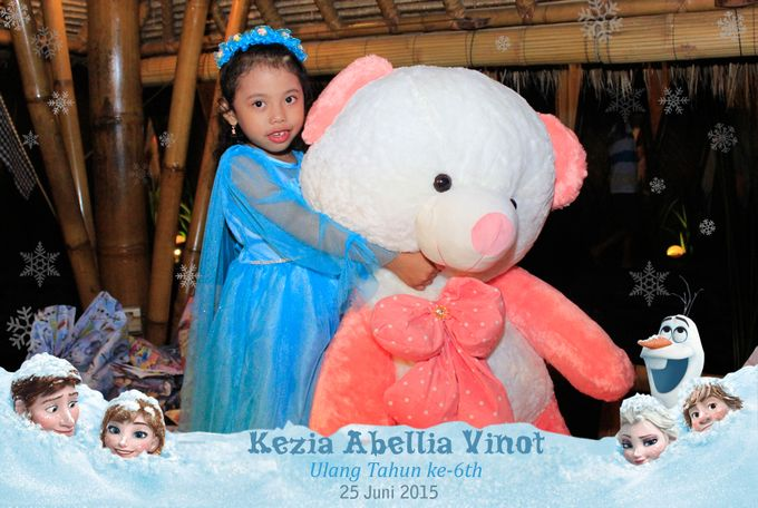Kezia Abellia Vinot Birthday Party by Happy Moment PhotoBooth - 001