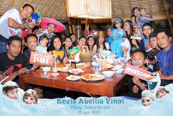 Kezia Abellia Vinot Birthday Party by Happy Moment PhotoBooth - 010