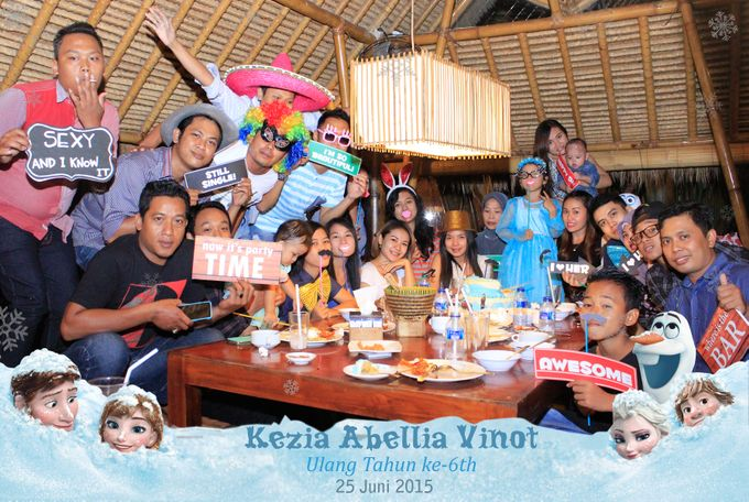 Kezia Abellia Vinot Birthday Party by Happy Moment PhotoBooth - 011