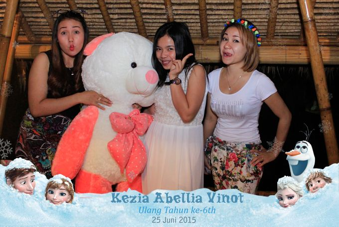 Kezia Abellia Vinot Birthday Party by Happy Moment PhotoBooth - 012