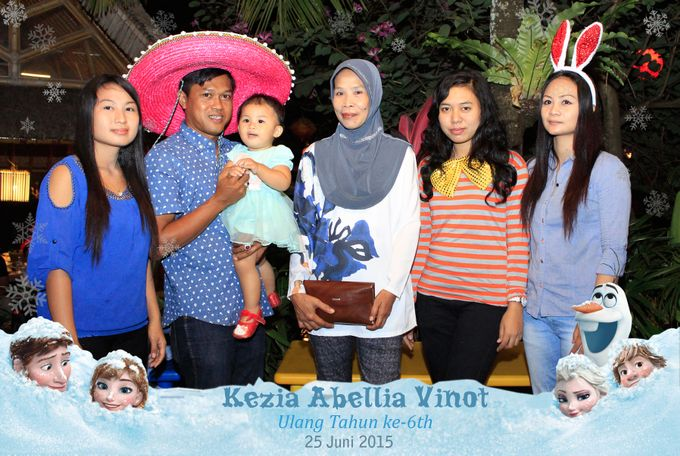 Kezia Abellia Vinot Birthday Party by Happy Moment PhotoBooth - 013