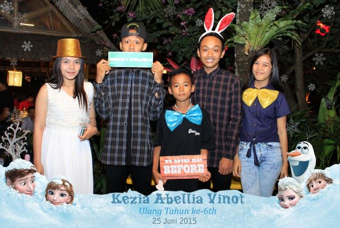 Kezia Abellia Vinot Birthday Party by Happy Moment PhotoBooth - 002