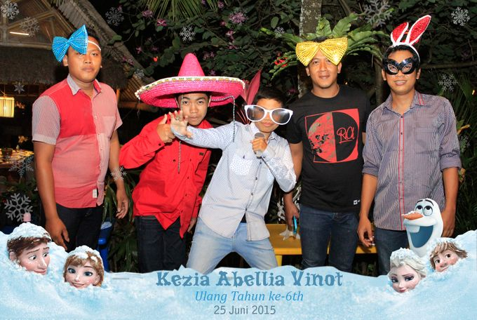 Kezia Abellia Vinot Birthday Party by Happy Moment PhotoBooth - 003