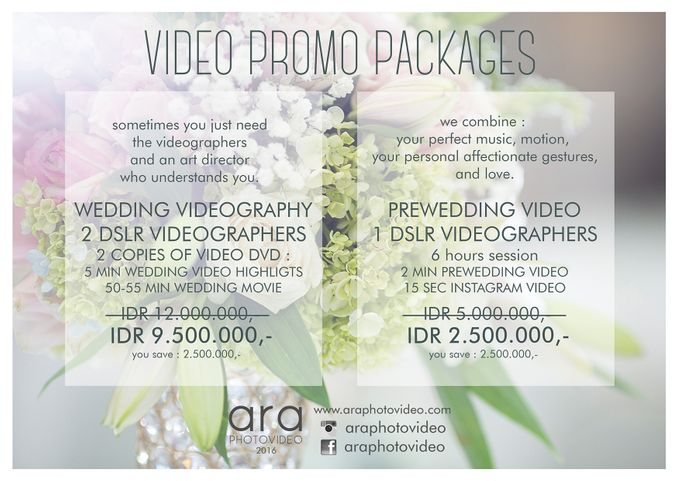 Promo Package by ARA photography & videography - 003
