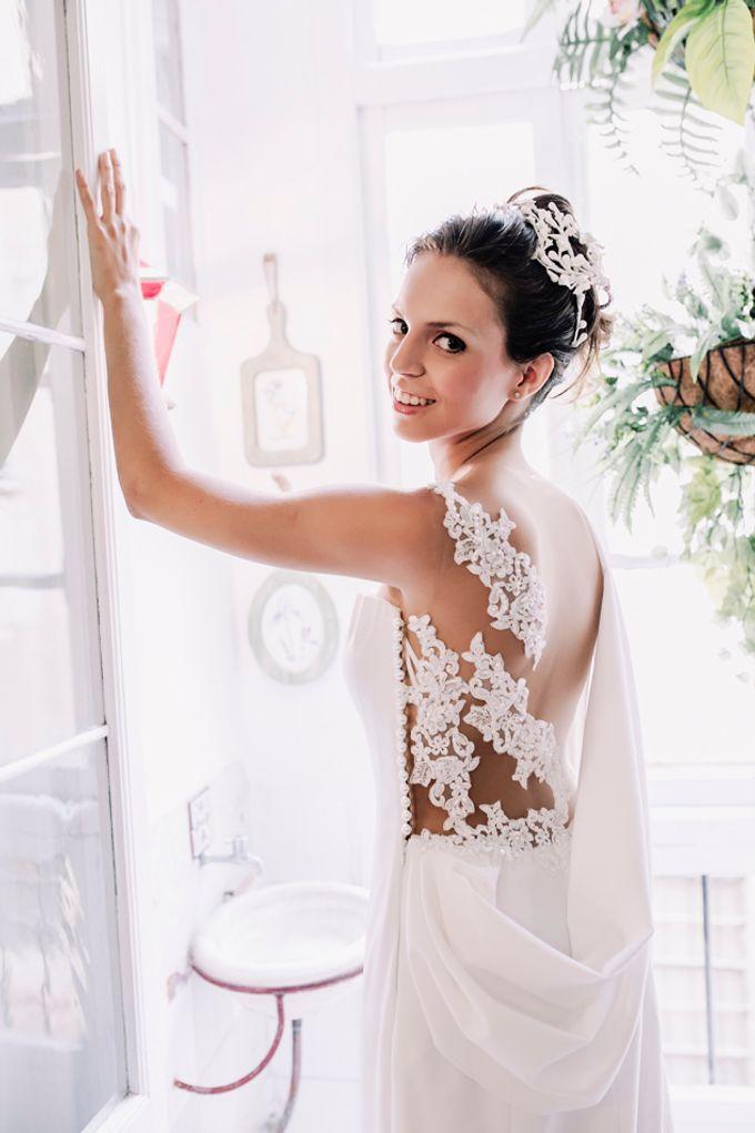 Prueba de vestido de novia by Carlos Lucca - 008