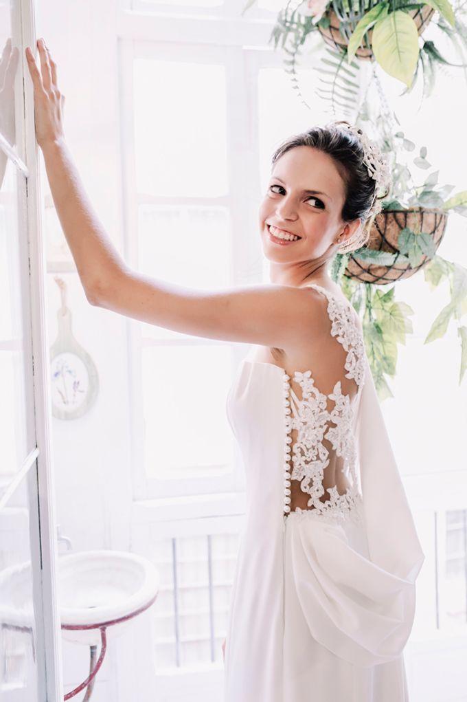 Prueba de vestido de novia by Carlos Lucca - 009