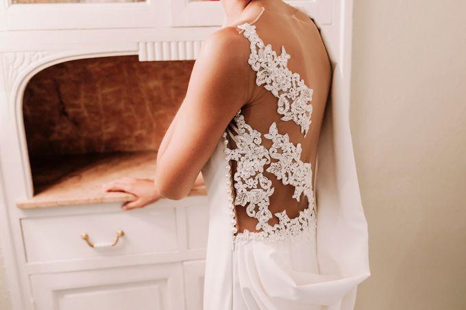 Prueba de vestido de novia by Carlos Lucca - 001